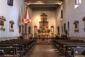 Mission Basilica San Diego de Alcalá Interior by Carol Highsmith
