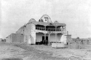 Mission San Buenaventura de Cochiti, New Mexico, 1906