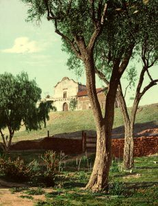 Mission San Diego, California by the Detroit Photo Co., 1904