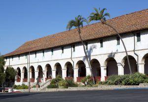 Santa Barbara Mission, California by Carol Highsmith