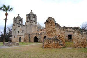 Mission Concepcion, San Antonio, Texas by Kathy Weiser-Alexander