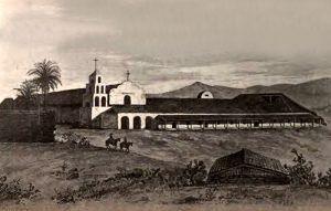 Mission San Diego, California 1848