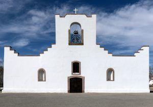 The Nuestra Senora de la Concepcion del Socorro Church in El Paso, Texas by Carol Highsmith.