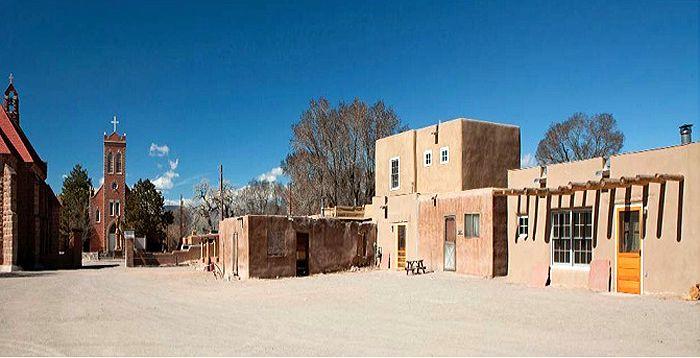 Ohkay Owingeh Pueblo, New Mexico by Hud User.gov