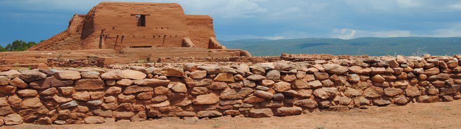 Pecos Pueblo Mission, Pecos, New Mexico by Kathy Weiser-Alexander