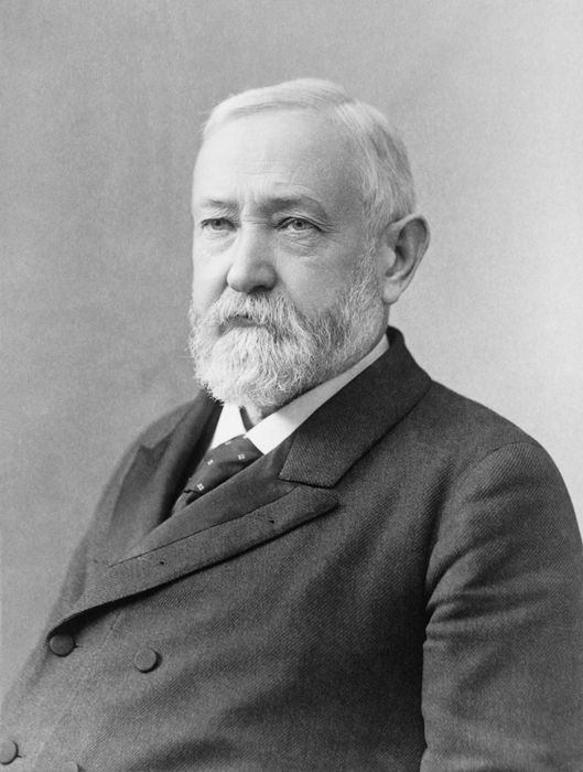 President Benjamin Harrison by the Pach Brothers, 1896