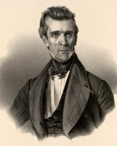 President James Polk by Charles Fenderich, 1845