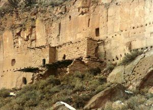 Puye Cliff Dwellings, courtesy Wikipedia