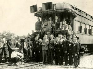 Franklin Roosevelt Campaign Train, 1932