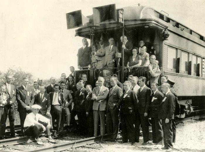 Franklin Roosevelt Campaign Train, 1932
