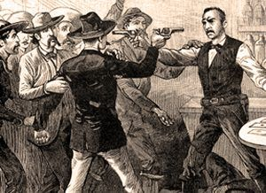Saloon Gunfight