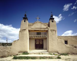 San Jose de Gracia Church, Las Trampas, New Mexico by Carol Highsmith.