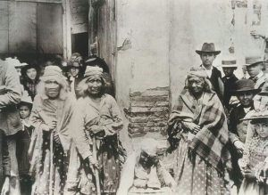 San Luis Rey Band of Luiseño Indians in 1895