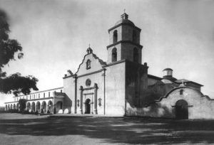 San Luis Rey Mission, California about 1935