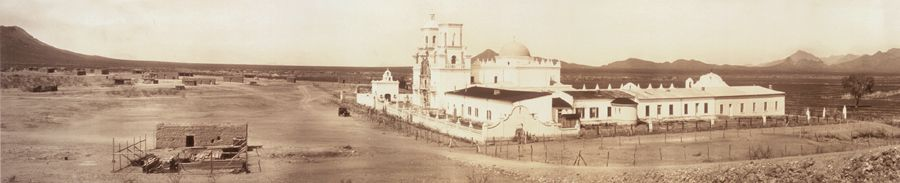 San Xavier Mission, Tucson, Arizona by the West Coast Art Co, 1913
