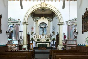 San Ysleta Mission Interior, El Paso, Texas, by Carol Highsmith