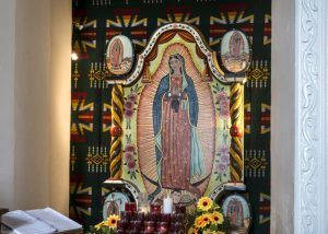 Interior view of San Ysleta Mission Church, El Paso, Texas by Carol Highsmith,