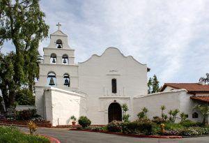 Mission San Diego, California today by Bernard Gagnon, Wikipedia