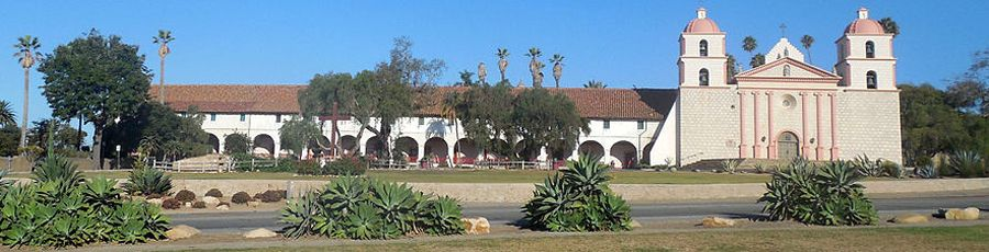 Santa Barbara Mission, California by Niranjan Arminius, Wikipedia