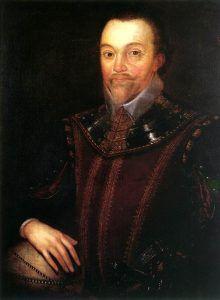 English Naval officer, Sir Francis Drake