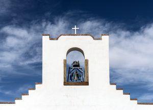 Socorro Mission Bell by Carol Highsmith.