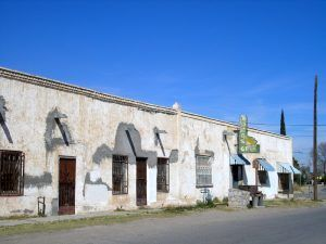 An old building in Socorro, Texas by Kathy Weiser-Alexander