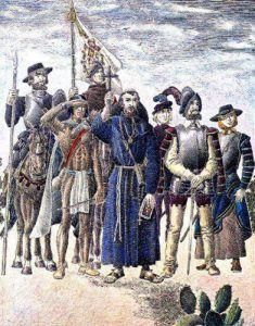 Spanish Missionaries by Jose Cisneros