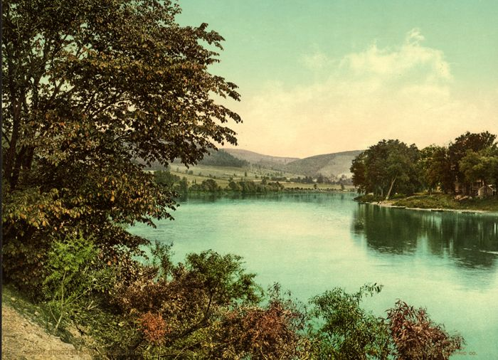 Susquehanna River, New York by teh Detrroit Photographic Co, 1900