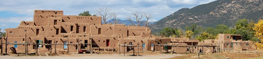 Taos, New Mexico Pueblo, by Kathy Weiser-Alexander