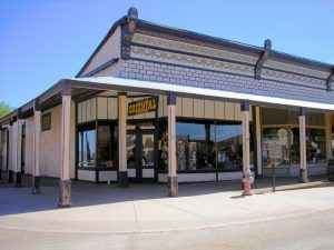 Oriental Saloon in Tombstone, Arizona by Kathy Weiser-Alexander.