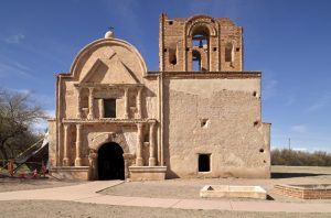 Tumacacori Mission south of Tucson, Arizona by Carol Highsmith.