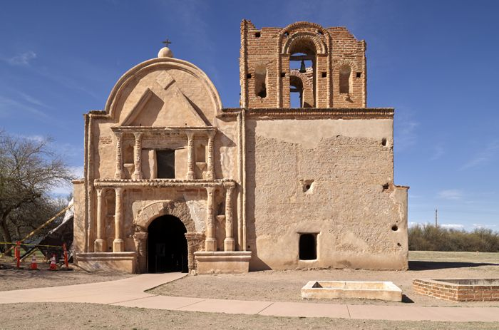 Tumacacori Mission south of Tucson, Arizona by Carol Highsmith.