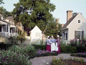 Colonial Williamsburg, Virginia Re-enactors by Carol Highsmith.