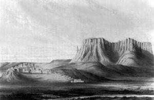 Zuni Pueblo, 1855