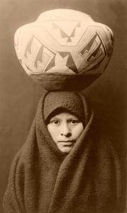 Zuni Girl, 1903
