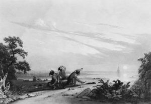 The First Ship by Joshua Shaw, 1800s
