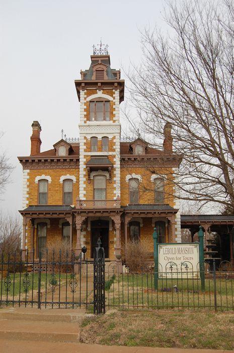 Lebold Mansion, Abilene, Kansas by Kathy Weiser-Alexander.