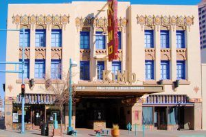 Kimo Theatre, Albuquerque, New Mexico by Kathy Weiser-Alexander.