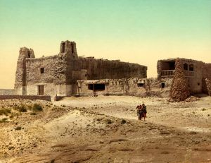 San Estévan del Rey Mission at Acoma Pueblo by Detroit Publishing, 1902.