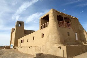 San Estevan del Rey Mission church at Acoma Pueblo, New Mexico, courtesy Wikipedia