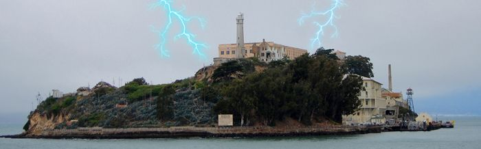 Alcatraz, Califotnia Lightning