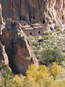 Talus House at Bandelier National Monument by the National Park Service