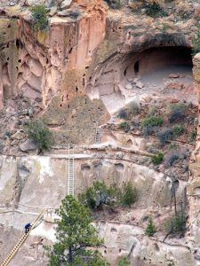 Alcove House at Bandelier National Monument by the National Park Service.