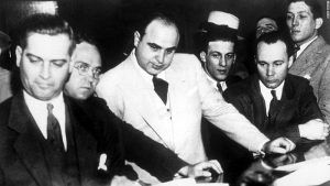 Al Capone With Members of the Chicago Outfit