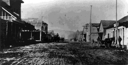 Carson City Nevada in the early days.