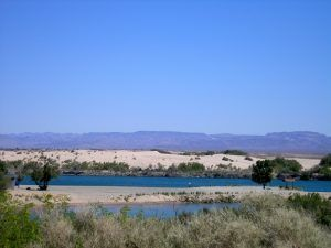 Colorado River at Needles, California by Kathy Weiser-Alexander.