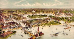 Columbian Exposition at Chicago, Illinois by Currier & Ives, 1892.
