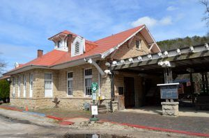 Eureka Springs Train Station today by Kathy Weiser-Alexander.