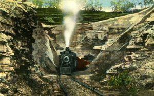 Eureka Springs, Arkansas train tunnel