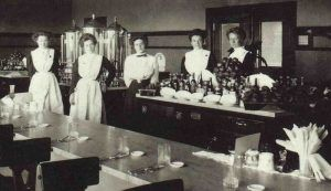 Harvey Girls in Winslow, Arizona, 1910
